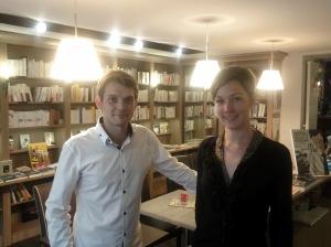 Lucile et Charles, libraires à Versailles